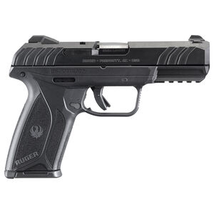 """Ruger Security-9 9mm Semi Auto Pistol 4"""" Barrel 15 Rounds Black Polymer"""