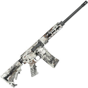 "Rock River LAR-15 RRAGE Alpine Carbine 5.56 NATO AR-15 Semi Auto Rifle 16"" Barrel 30 Rounds Free Float M-LOK Handguard Collapsible Stock Veil Alpine Camo Finish"