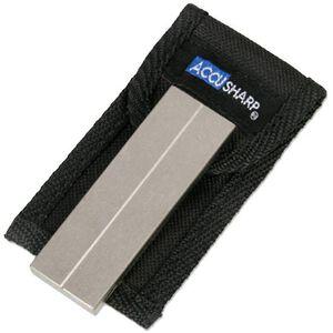 AccuSharp Diamond Pocket Stone Knife Sharpener with Nylon Pouch 027C