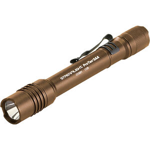 Streamlight ProTac, Flashlight, Coyote, Aluminum, 250 Lumens