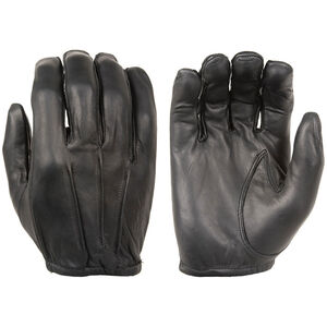 Damascus Protective Gear Dyna-Thin Unlined Leather Duty Gloves w/Short Cuffs, Large