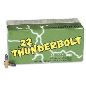 Remington 22 Thunderbolt .22LR Ammunition 40 Grain Lead Round Nose 1255 fps