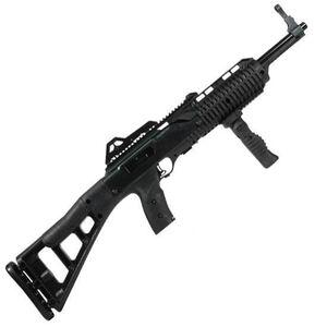 "Hi-Point Carbine Semi Auto Rifle .45 ACP 17.5"" Barrel 9 Rounds Polymer Stock Black Finish With Forward Grip 4595TSFG"