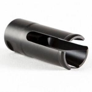 Patriot Ordnance Factory USA Flash Hider 5.56/.223 Caliber Diameter 1/2x28 Threads Locknut Kit Matte Black Finish