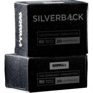Gorilla Silverback 9mm Luger SCHP 135gr 990 fps 20 Rounds