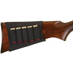 Allen Shotgun Buttstock/Cartridge Holder Black