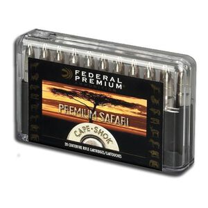 Federal 458 Win Mag 500 Grain Bonded Bear Claw 20 Rnd Box