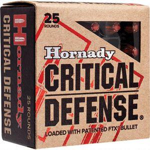 Hornady Critical Defense .25 Auto Ammunition 25 Rounds FTX 35 Grains