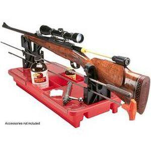 MTM Case-Gard Portable Rifle Maintenance Center Red