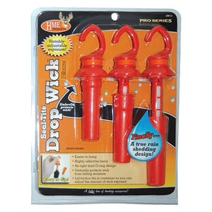 HME Products Pro Series Seal-Tite Drop Wick Scent Dispenser Orange 3 Pack DWO