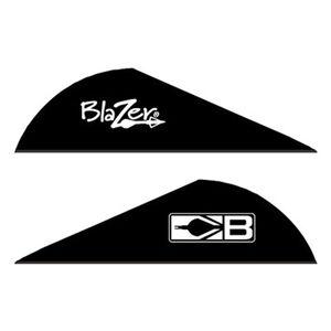 """Bohning Blazer Vanes 2"""" Solid Black 36 Pack 10831BK2"""