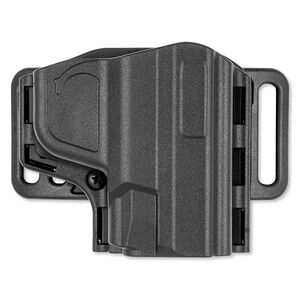 Uncle Mike's Reflex Pancake Holster S&W M&P Shield Right Hand Kydex Black 74101