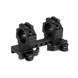 "AR-15 Intergal QD One Piece 1"" Scope Mount UTG Leapers Ring Top Accessory Rails Re-Zero"