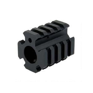 DMA, Inc. XTS AR .750 Low Pro Quad Rail Gas Block Aluminum Black