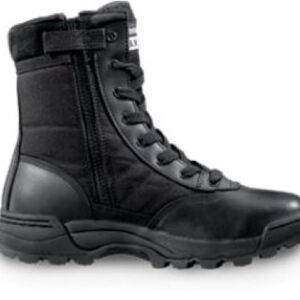 "Original S.W.A.T. Classic 9"" Side Zip Women's Boot Size 7.5 Regular Non-Marking Sole Leather/Nylon Black 115211-75"