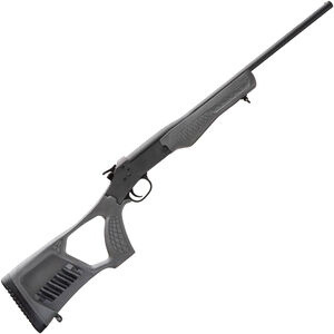 "Rossi Tuffy Youth .410 Bore Single Shot Shotgun 18.5"" Barrel Gray Synthetic Stock Black Finish"