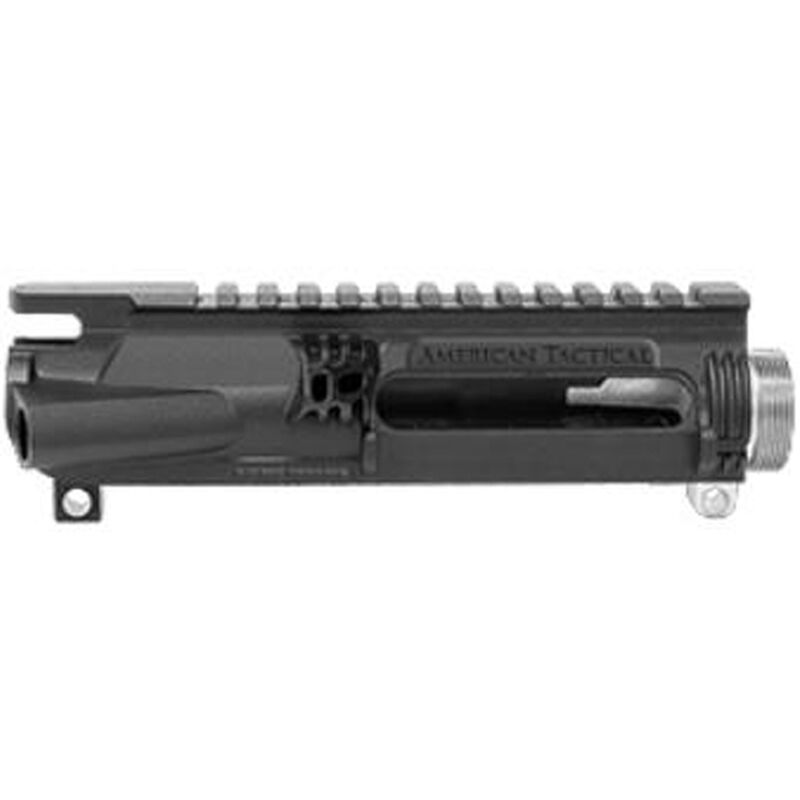 American Tactical Imports AR-15 Omni Hybrid Maxx Stripped Upper Receiver Multi Caliber Metal Reinforced Polymer Construction Black ATIHUP200