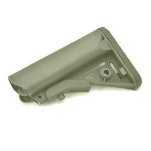 B5 Systems AR-15 Enhanced SOPMOD Stock Mil-Spec Polymer OD Green SOP-1097