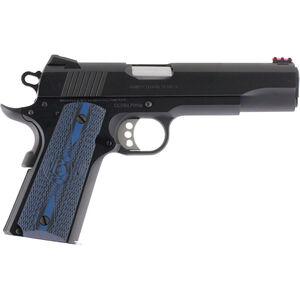 "Colt Competition .45 ACP Semi Auto Pistol 5"" Barrel 8 Rounds G10 Grips Blued Finish"