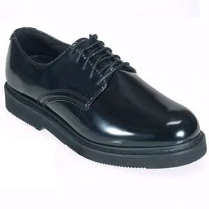 Original S.W.A.T. Dress Oxford Men's Shoe Size 7.5 Regular Clarino Synthetic Upper Black 118001-75