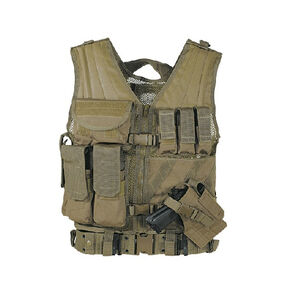 Voodoo Tactical MSP-06 Entry Assault Vest Nylon Large/XXL Coyote