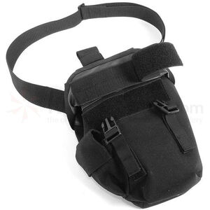 BLACKHAWK! Omega Elite Gas Mask Pouch Nylon Black 56GM00BK