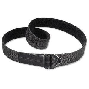 "Uncle Mike's Reinforced Instructor's Belt 1.5"" Poly Reinforced Nylon Black Medium 32""-36"""