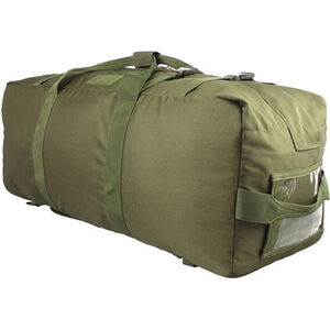Red Rock Gear Explorer Duffle Pack 75.5 Liter Capacity Dividers 600D Polyester OD Green