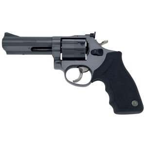 "Taurus Model 66 Double Action Revolver .357 Magnum 4"" Barrel 7 Rounds Fixed Front/Adjustable Rear Sights Soft Rubber Grip Matte Black Finish"