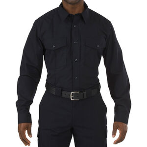 5.11 Tactical Stryke Class B PDU Long Sleeve Shirt Large/Regular Midnight Navy 72074750LR
