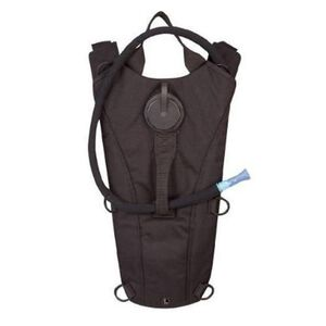 "5IVE Star Water Backpack, 18""x7.5"" Holds 84.5oz Black"