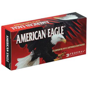 Federal American Eagle .338 Lapua Magnum Ammunition 20 Rounds JSP 250 Grains AE338L