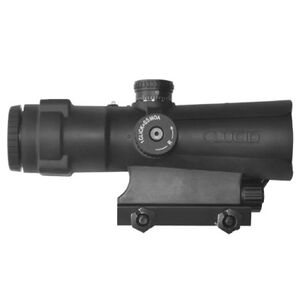 LUCID P7 4X Weapon Optic Illuminated P7 MOA Reticle 30mm Matte Black L-4X-P7