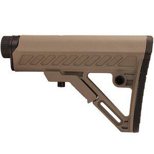 UTG PRO AR15 Ops Ready S2 Commercial-spec Stock Kit, FDE