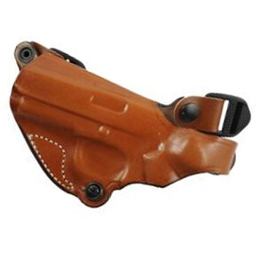DeSantis New York Undercover Shoulder Holster Only Fits GLOCK 17 and Similar Left Hand Leather Tan