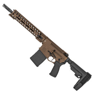"POF USA Revolution DI .308 Winchester Semi Auto Pistol 12.5"" Barrel 20 Rounds Direct Gas Impingement System 11.5"" M-LOK Free Float Rail Burnt Bronze Finish"