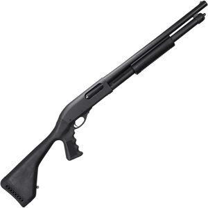 "Remington 870 Express Tactical Defense 12 Gauge Pump Action Shotgun 18.5"" Barrel 3"" Chamber 6 Rounds Synthetic Pistol Grip Stock Matte Black"