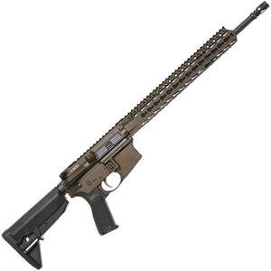 """Bravo Company USA RECCE-16 KMR-A AR-15 Semi Auto Rifle 5.56 NATO 16"""" Barrel 30 Rounds Key-Mod Handguard Collapsible Stock Bronze"""