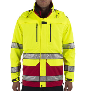 5.11 Tactical FR Hi-Vis Jacket Yellow/Dark Navy XL