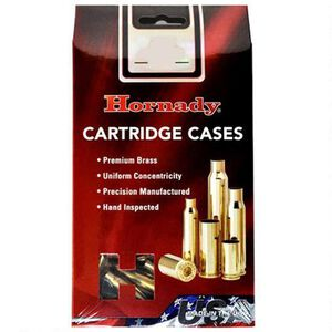 Hornady Reloading Components 6mm Creedmoor New Unprimed Brass Cartridge Cases 50 Count