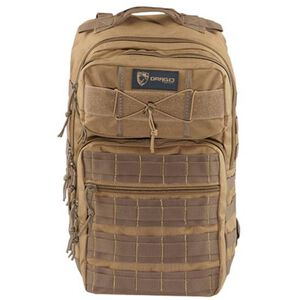 "Drago Gear Ranger 15"" Laptop Backpack 18"" x 17.5"" x 12"" MOLLE Webbing 1,463 Cubic Inches Hydration Reservoir Compatible Tan 14309TN"