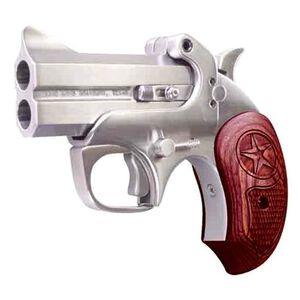 """Bond Arms Texas Defender Break Action Derringer 9mm Luger 3"""" Barrel 2 Rounds Rosewood Grips Brushed Stainless Finish BATD9MM"""