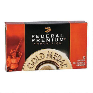 Federal .30-06 Springfield Ammunition 20 Rounds SMK BTHP 168 Grain