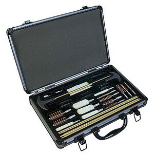 Outers 32-Piece Universal Cleaning Kit Aluminum Case