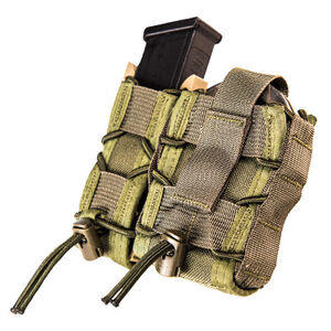 High Speed Gear MOLLE Mounted LEO TACO Olive Drab