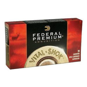 Federal 7mm Weatherby Magnum Ammunition Polymer Tip BT 160 Grains