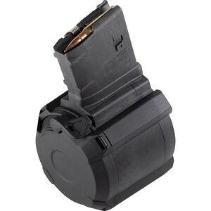 Magpul LR-308/SR-25 D-50 Drum Magazine .308/7.62 50 Rounds Polymer Black