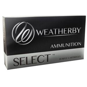 Weatherby Select .270 Weatherby Magnum Ammunition 20 Rounds 130 Grain Norma Spitzer 3280fps