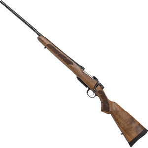 "CZ USA CZ 557 Left Hand Bolt Action Rifle .30-06 Springfield 24"" Barrel 4 Rounds Turkish Walnut Stock Blued"