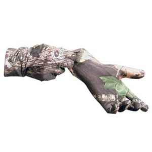 Primos Stretch Fit Gloves with Extended Cuff in Mossy Oak New Break Up